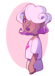 blush body_modification nepurin roxy_lalonde solo starter_outfit rating:Safe score:4 user:saigner