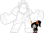 crossover disney lusus pelicaneggs transparent trollified wreck-it_ralph rating:Safe score:18 user:LonelyCoast