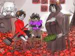 ancestors animals crabdad dancestors kankri_vantas karkat_vantas lusus plushie salihombox the_sufferer the_zodiac_getting_together vantases zodiac rating:Safe score:18 user:Duck