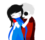 arm_around_shoulder blush breath_aspect dave_strider godtier hammertime image_manipulation john_egbert no_glasses rule63 shipping sylph time_aspect transparent turbulentchaos rating:Safe score:1 user:Edfan32