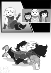 chbichee comic godtier hiveswap hug joey_claire jude_harley light_aspect rogue rose_lalonde roxy_lalonde seer siblings:joeyjude void_aspect rating:Safe score:5 user:NepetaFan