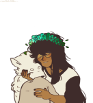becquerel dogtier drag_me flower_crown flowers godtier jade_harley mamidefenseteam multiple_personas space_aspect starter_outfit transparent witch rating:Safe score:6 user:Chocoboo