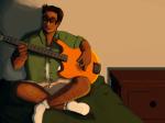 bed instrument jake_english prablata sitting solo starter_outfit rating:Safe score:4 user:prablata