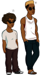 ageswap alternate_hair casetrippy casual dave_strider fashion multiple_personas solo transparent rating:Safe score:3 user:bjorkstuck