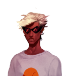 body_modification dirk_strider headshot lil_hal muffinmachine solo starter_outfit rating:Safe score:7 user:saigner