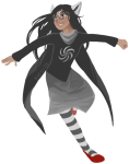 dogtier godtier jade_harley kaenith solo space_aspect transparent witch rating:Safe score:5 user:saigner