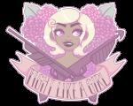 blush flowers harpoon_gun headshot laser_gun roxy_lalonde solo tangledbeasties text transparent rating:Safe score:5 user:saigner