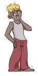 alternate_hair barefoot dave_strider fashion pajamas solo turntechgolgothas rating:Safe score:2 user:Jogn_Ehbert