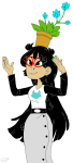 flowers harshwhimsy jade_harley solo starter_outfit rating:Safe score:7 user:Pie
