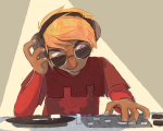 afyasco dave_strider godtier headphones knight solo turntables rating:Safe score:1 user:Pie