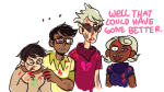 alpha_kids blood dirk_strider godtier heart_aspect hope_aspect jake_english jane_crocker life_aspect maid no_mask page prince rogue roxy_lalonde shelby text void_aspect rating:Safe score:14 user:MisterSolitaire