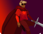 caledfwlch dave_strider godtier hanna-cepeda knight midair solo time_aspect weapon rating:Safe score:2 user:saigner
