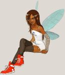 fairy_dress happyds humanized solo vriska_serket rating:Safe score:40 user:Chocoboo
