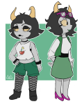 casual cat-green daraya_jonjet hiveswap lynera_skalbi rating:Safe score:3 user:NepetaFan