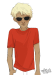 casual dave_strider fanfic_art fashion freckles hamletmachine solo rating:Safe score:5 user:Pie
