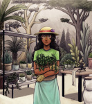 casual fashion hat jade_harley short-and-artsy solo trees rating:Safe score:6 user:saigner