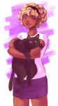 carrying jaspers ladylovelycocks rose_lalonde starter_outfit rating:Safe score:9 user:Pie