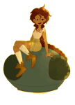 aradia_megido bunnyknickers humanized sitting solo transparent rating:Safe score:5 user:Pie