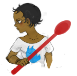 headshot jane_crocker solo spoon starter_outfit yapoos rating:Safe score:2 user:sync