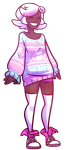 animeboobies casual fashion pastel_goth roxy_lalonde solo transparent rating:Safe score:4 user:sync
