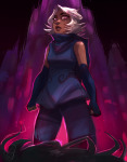 ancestors blood derse godtier head_out_of_frame her_imperious_condescension no_mask rogue roxy_lalonde snejkha sweat void_aspect rating:Safe score:11 user:saigner