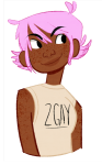 casual fashion freckles headshot roxy_lalonde solo text windsweptquestint rating:Safe score:5 user:saigner