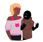 arm_around_shoulder carapaces roxy_lalonde shad starter_outfit rating:Safe score:5 user:saigner