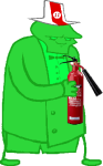 felt feltandmidnightcrewstuff fire_extinguisher image_manipulation matchsticks solo sprite_mode rating:Safe score:1 user:feltandmidnightcrewstuff
