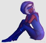 gilwing godtier rogue roxy_lalonde sitting solo void_aspect rating:Safe score:6 user:Pie