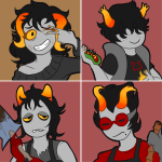 ainaraoftime chixie_roixmr diemen_xicali food fozzer_velyes hiveswap marsti_houtek oblong_meat_product sweat rating:Safe score:3 user:NepetaFan
