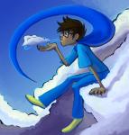 clouds gloomy-optimist godtier heir john_egbert profile solo rating:Safe score:3 user:Pie