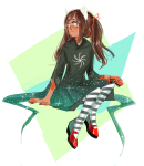 alternate_hair dogtier godtier jade_harley mcconaughey sitting solo stars witch rating:Safe score:4 user:sync