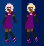 foxy_kittyknit_dress multiple_personas pixel roxy_lalonde solo toxixpumpkin rating:Safe score:3 user:saigner