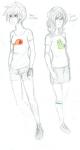 dirk_strider heirofpotatis highlight_color john_egbert rule63 starter_outfit rating:Safe score:3 user:Chocoboo