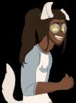 alternate_hair dogtail dogtier jade_harley solo spartalabouche transparent rating:Safe score:4 user:navrisk