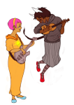 alternate_hair bromance dogtier godtier guns_and_roses instrument jade_harley midair rose_lalonde seer shipping witch yapoos rating:Safe score:2 user:sync