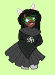alternate_hair andromedid dogtier godtier jade_harley solo space_aspect witch rating:Safe score:4 user:saigner