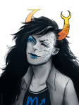 dacadaca eyesquick headshot no_glasses solo vriska_serket rating:Safe score:6 user:rudle