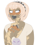 body_modification headshot rose_lalonde sexandthedatencity solo starter_outfit rating:Safe score:4 user:saigner