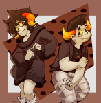 artificial_limb chixie_roixmr freckles hiveswap purpleskulldog robolegs tavros_nitram rating:Safe score:4 user:NepetaFan