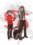 ancestors bya dancestors kankri_vantas karkat_vantas the_sufferer vantases zodiac_symbol rating:Safe score:10 user:sync