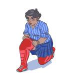 body_modification casual chubstuck fashion jane_crocker kneeling solo toastyhat rating:Safe score:7 user:saigner