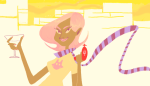 alcohol cocktail_glass kilogramrose limited_palette roxy's_striped_scarf roxy_lalonde solo starter_outfit rating:Safe score:1 user:sync