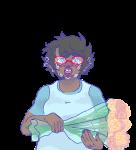 blush body_modification chubstuck crying deer-dearest flowers jane_crocker solo transparent rating:Safe score:5 user:bjorkstuck
