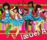 digitallyimpaired dress_of_eclectica jade_harley multiple_personas solo squiddlejacket rating:Safe score:10 user:Pie