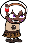 freckles native_source proxykitkat rose_lalonde solo sprite_mode trickster_mode  rating:safe score:2 user:proxykitkat