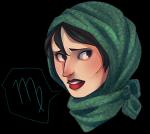 bedsafely headshot humanized kanaya_maryam solo word_balloon zodiac_symbol rating:Safe score:12 user:sync