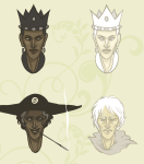 black_queen bq chazzerpan crown humanized mep smoking snowman white_queen windswept_questant wq rating:Safe score:2 user:sync