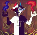 abstract no_glasses psionics sollux_captor solo suryaasura