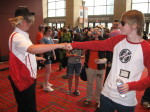 bro cosplay dave_strider fistbump real_life red_baseball_tee source_needed sourcing_attempted